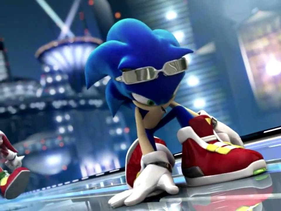 Free Hd Live Wallpapers For Pc Sonic Riders Intro Hd Youtube