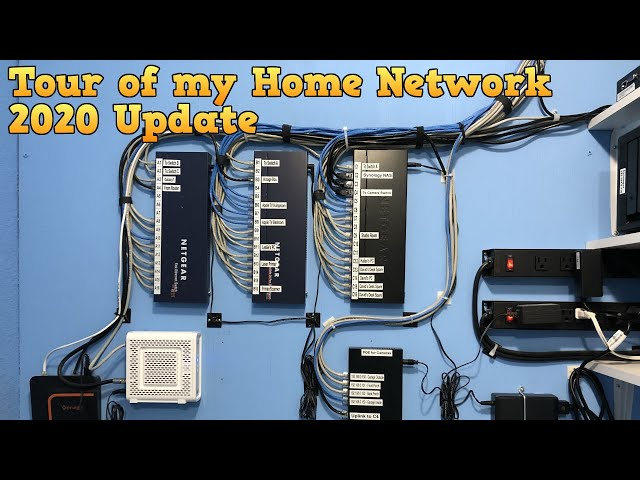Tour of Home Network 2020