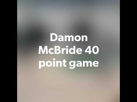 Damon D-Mac McBride drops 40 as 8th Grader at Croft Middle School