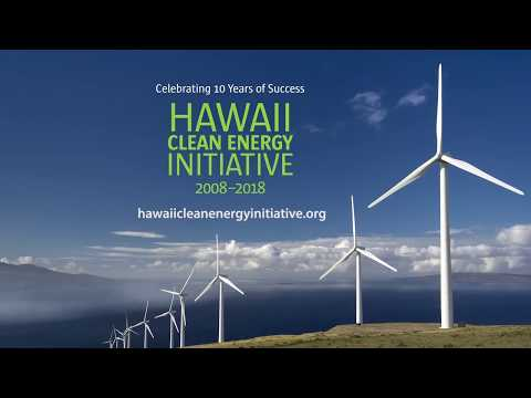 Hawaii Clean Energy Initiative: Celebrating 10 Years of Success