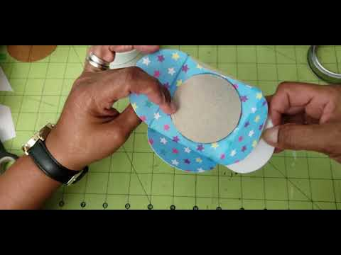 DIY Interlocking Envelope Template