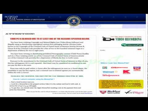 Remove The FBI Federal Bureau of Investigation -- Ransomware Virus Removal Guide