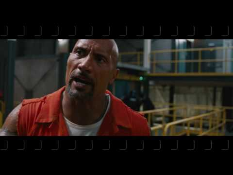 Jason Statham and The Rock Fight Scene (english)