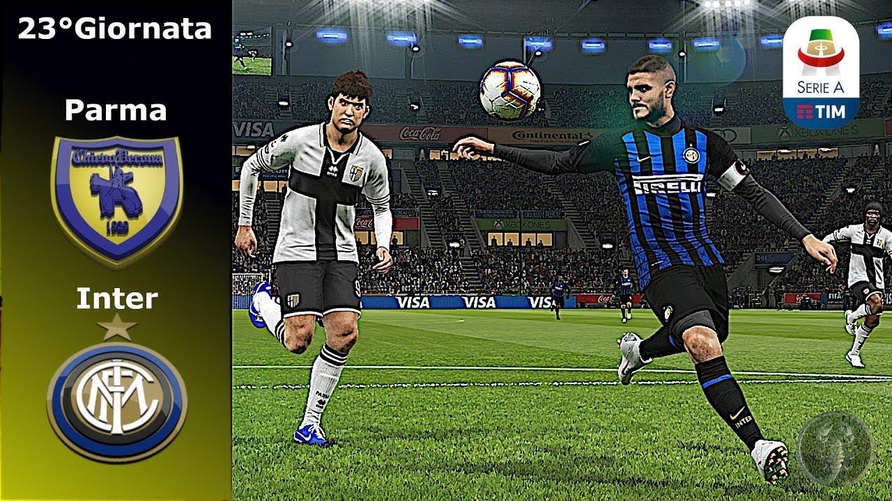 Parma Vs Inter 23 Giornata Icardi Show Pes 2019