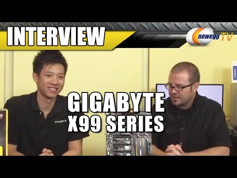 Gigabyte X99 Motherboard Interview - Newegg TV