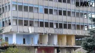 Wyburzanie wieżowca Jelcz-Laskowice [13.10.2012 Jelcz-Laskowice]