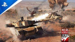 War Thunder - Ixwa Strike Update Trailer | PS5, PS4