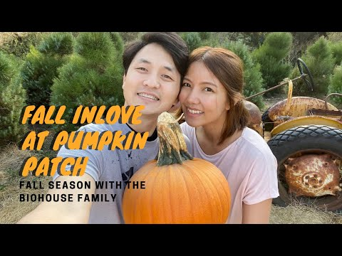 🍂 Fall Pumpkin Patch Date 🎃 | Labyrinth Hay Maze 🌾 | Marga's First Pumpkin 🙆🏻‍♀️ | E.10