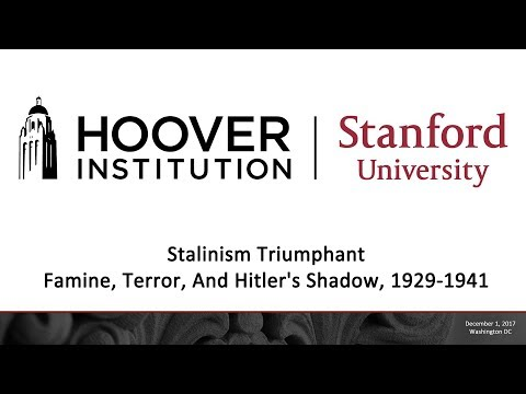 Stalinism Triumphant: Famine, Terror, And Hitler's Shadow, 1929-1941