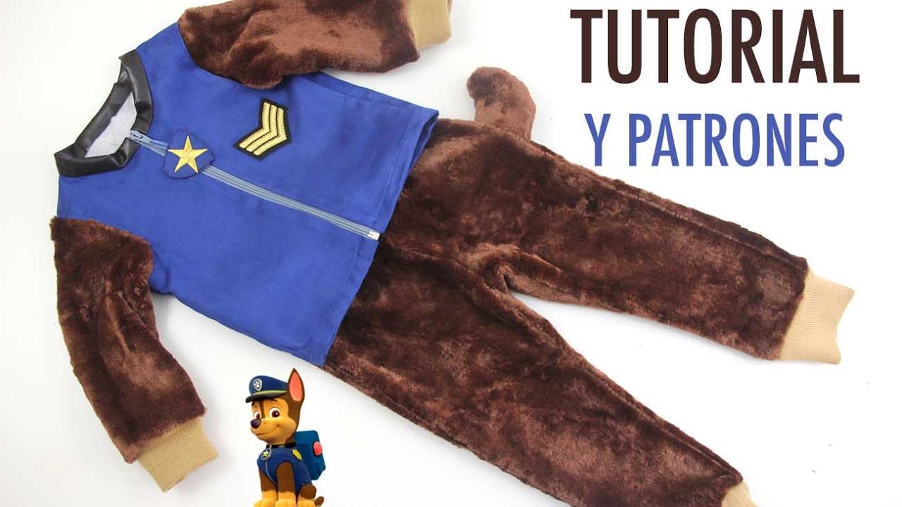 DIY Disfraz Casero para niños de la Patrulla Canina - YouTube
