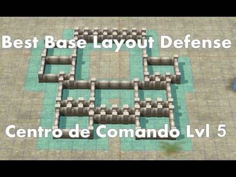 Call of Duty: Heroes - Command Center Level 5 - Best Base Layout ...