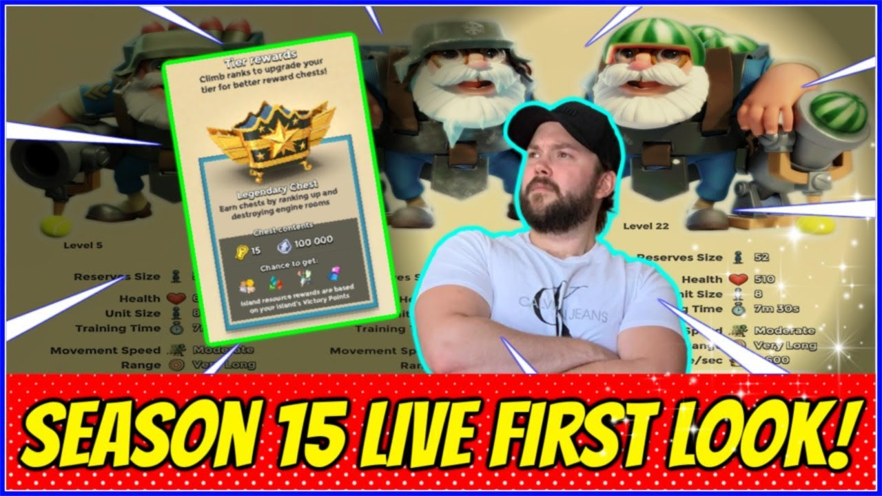 SEASON 15 LIVE - NEW TECH PATH IS DISCOVERED! // Boom Beach Warships