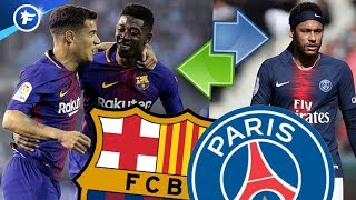 le PSG veut Dembelé et Coutinho contre Neymar | Revue de presse