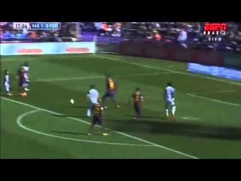 Rossi Goal Real Valladolid - FC Barcelona 1 -0 La Liga BBVA 08.03.14