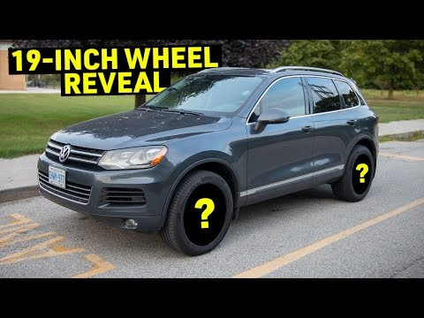 Downsizing SUV wheels SAVED 40LBS on the VW Touareg
