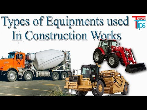 Construction Vehicles & Equipments Used In Civil Engineering