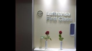 lufthansa first class flight review