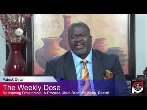 Reinstating Dictatorship: Promises UhuruRuto Will Keep.