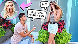 REJECTING Marriage PROPOSALS In Public To See How STRANGERS React...