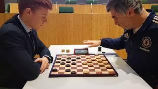 Jan Groenendijk vs Vassily Ivanchuk - draughts blitz match screenshot 5