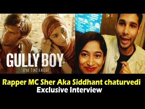 Ranveer Singh Co-Star MC Sher | Exclusive Interview | Gully Boy