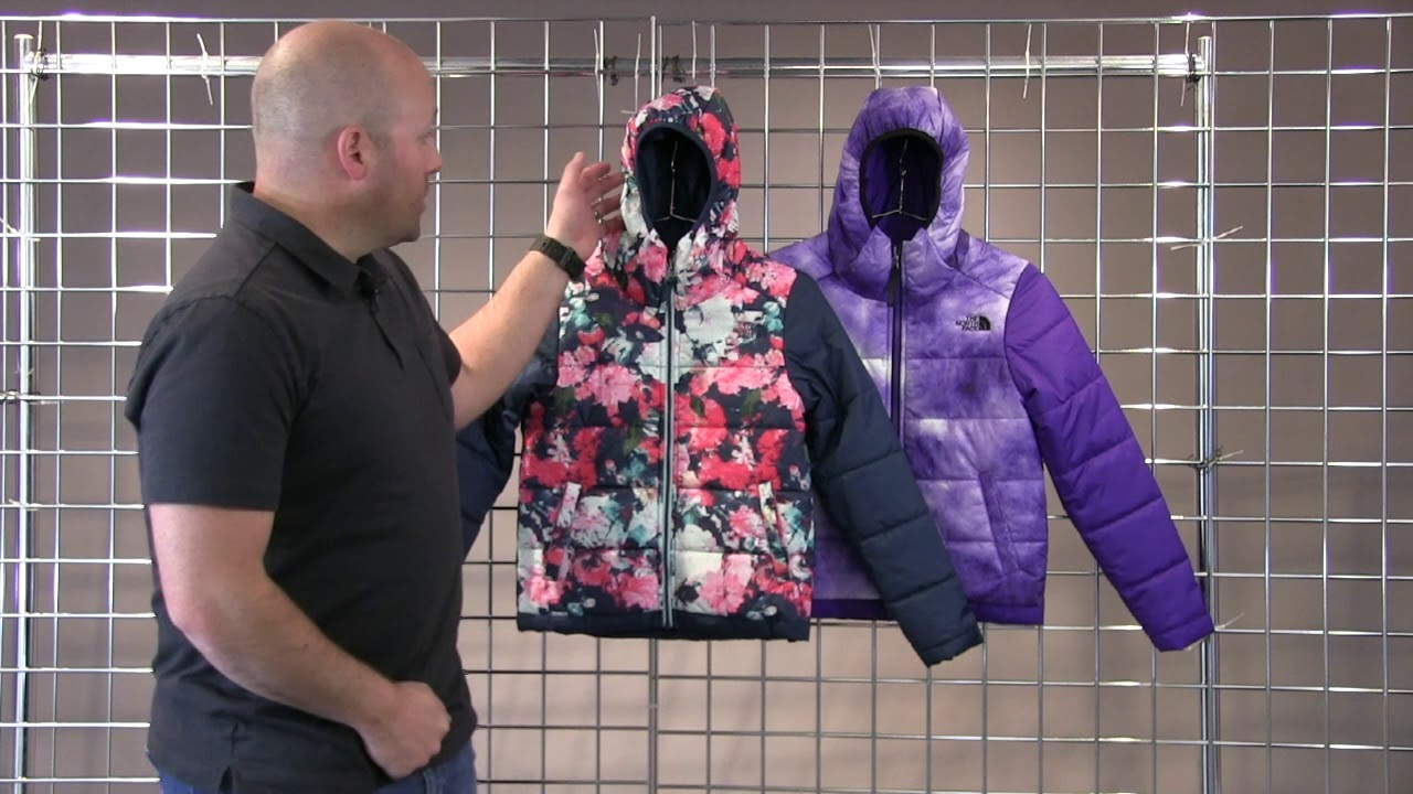 3b628a6ae025 The North Face Girls Reversible Perrito Jacket 2018-2019 - YouTube