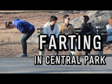 FARTING IN CENTRAL PARK