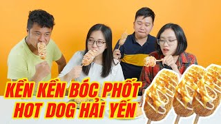 """Sếp HuyNL """"bóc phốt"""" Hotdog Hàn Quốc KHỔNG LỒ của Hải Yến !"""