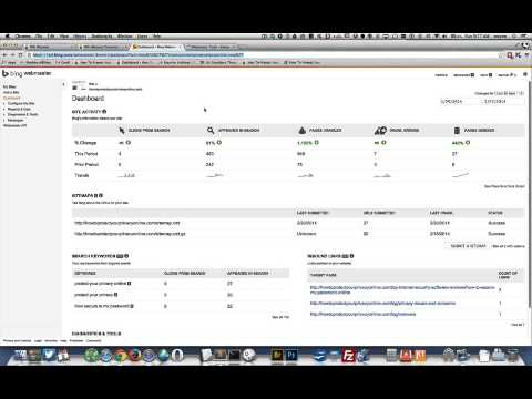 how to create and submit a website sitemap index to google search