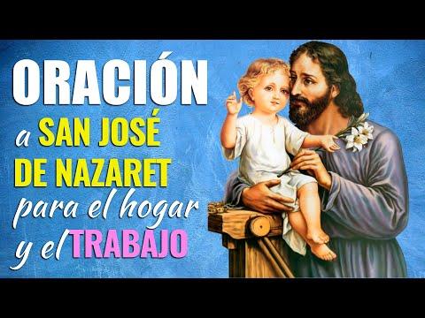 🙏 Oración a San José de Nazaret para EL TRABAJO Y HOGAR 👷♂️