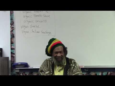 Ojenke Comes to Marcus Garvey School  in Los Angeles 12 -06-19