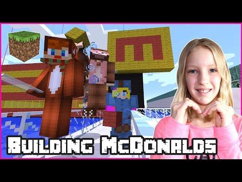 Building McDonalds / Minecraft