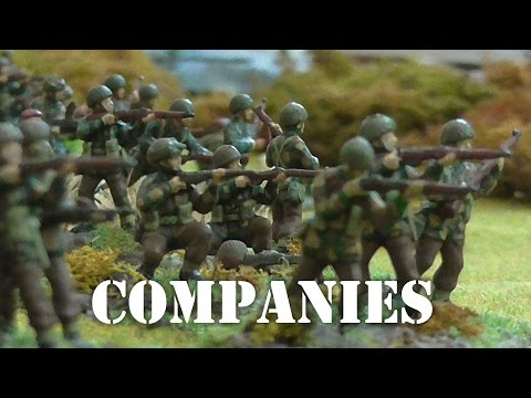Infantry Companies - another natural size of unit
