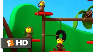 Miffy the Movie (2014) - The Monkey Dance Scene (7/10)   Movieclips