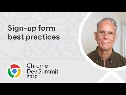 Sign-up form best practices