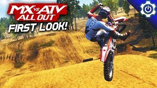MX vs ATV All Out - First Look! - Gameplay and Customization