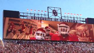 Oklahoma Sooners Football 2010 Intro