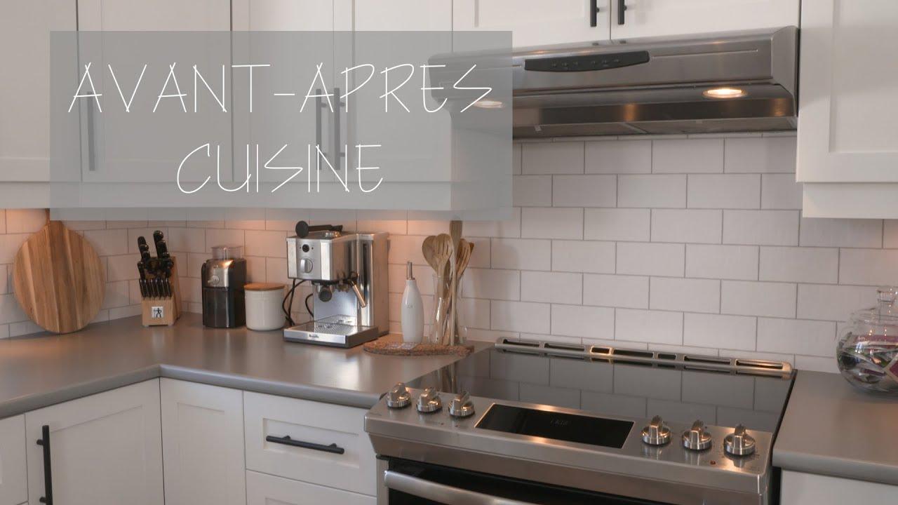 Espace Déco EM17 - Avant-après cuisine style farmhouse