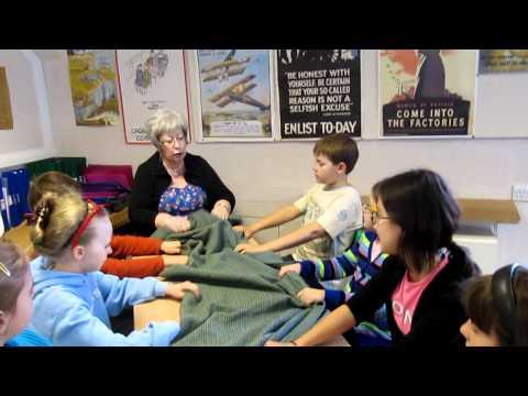 Gergel School in Scotland - Learning Gàidhlig songs -  A Waulking Song 'He Mo Leannan'