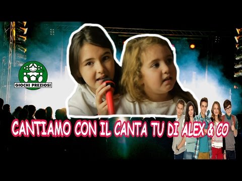 Cantiamo Introverso con il CANTA TU ALEX & CO   by  MARGHE GIULIA KAWAII