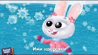 Бурёнка Даша. Снежинки | Песни для детей