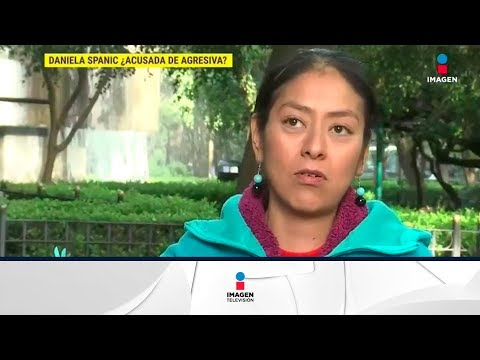 ¿Daniela Spanic acusada de agresiva?  De Primera Mano