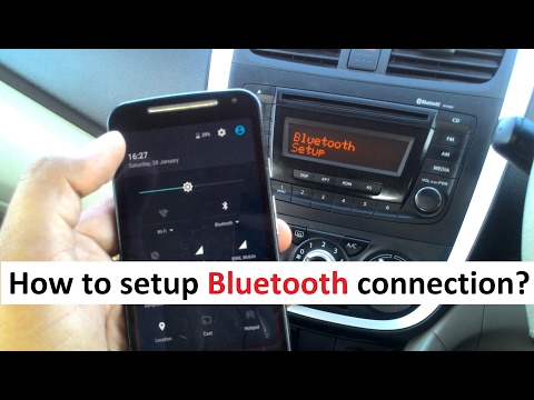 Bluetooth Setup Process - Mobile Car Wireless Connectivity
