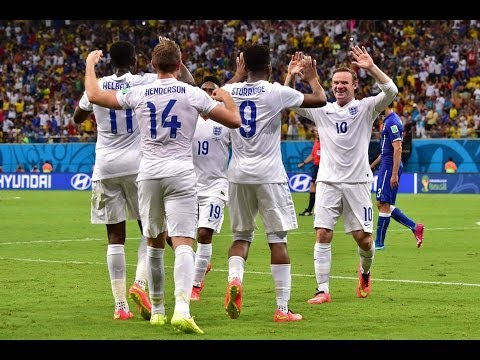 ENGLAND vs ITALY World Cup 2014 - Full Match Highlights