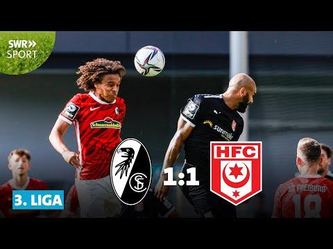 Freiburg II Hallescher Goals And Highlights