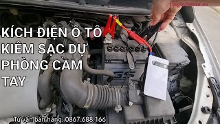 Bộ kích điện ô tô kiêm sạc dự phòng điện thoại thứ không thể thiếu trên xe ô tô khi xe hết điện.