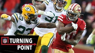 How Raheem Mostert Broke Records to Win the NFC | NFL Turning Point