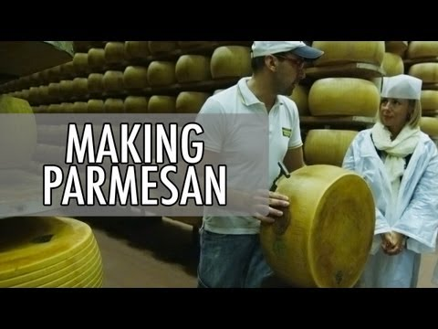 How to Make Parmesan - Parmigiano-Reggiano Cheese Making in Italy | Walks of Italy on YouTube