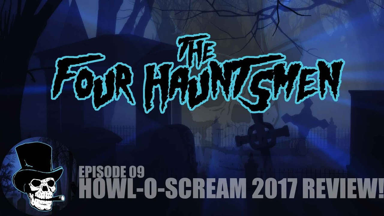 Busch Gardens Tampa And Williamsburg Howl O Scream 2017 Review Youtube