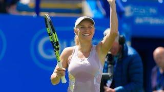2016 Aegon International Second Round | Caroline Wozniacki vs Sam Stosur | WTA Highlights